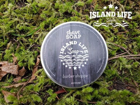 Mens Shave Soap Barber Shoppe Variable