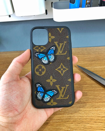 LV Butterfly iPhone Case