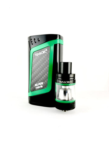 VAPER SMOK ALIEN KIT BLACK-GREEN