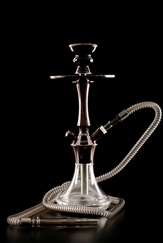 CACHIMBA EL KEYIF AC 480 DARK CHROME