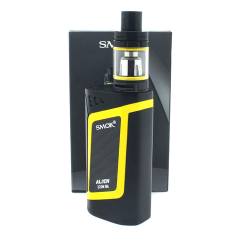 VAPER SMOK ALIEN KIT BLACK-YELLOW