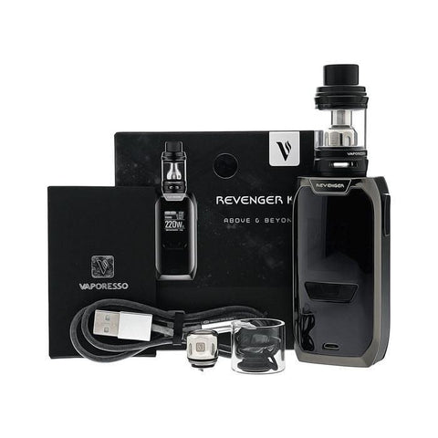 KIT MINI VAPORESSO REVENGER 2ML BLACK