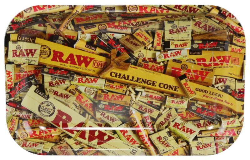 RAW Rolling Tray Rolling Papers SM