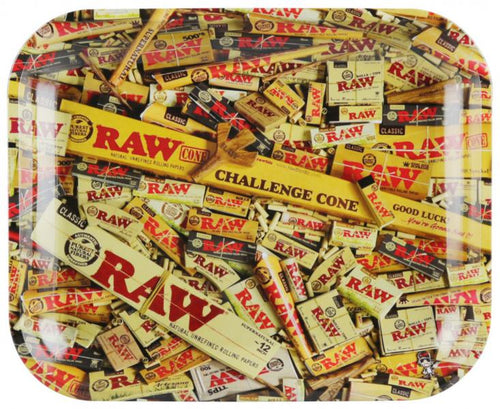 RAW Rolling Tray Rolling Papers LG