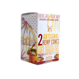 High Hemp Cones - Honey Pot Swirl 2pk