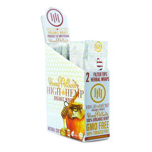 High Hemp Wraps - Honey Pot Swirl 2pk