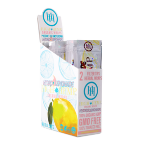 High Hemp Wraps - Hydro Lemonade 2pk