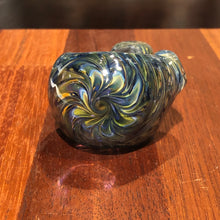 Fumed Magnigier Spoon Hand Pipe