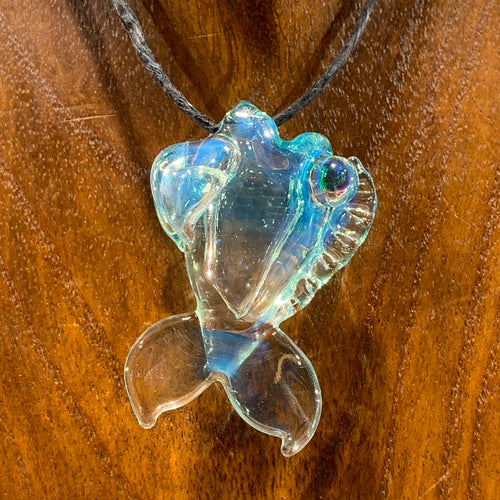 20 Glass - Fish Pendant