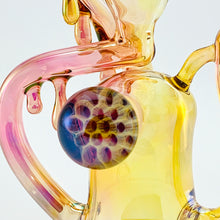 Kage Glass - Golden Fumed Honey Micro Recycler