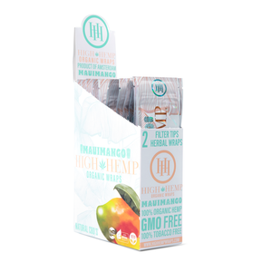 High Hemp Wraps - Maui Mango 2pk
