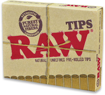 RAW Prerolled Tips - 21pk