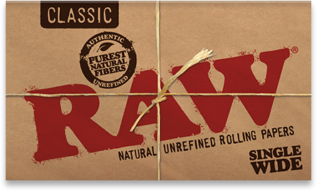 RAW Classic Single Wide - 100pk