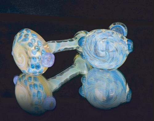 Fume Twist with Marble Spoon
