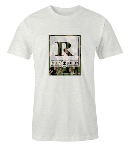 Ruckus Gallery Camo Girls T-Shirt
