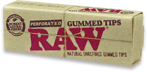 RAW Perferated Tips Gummed