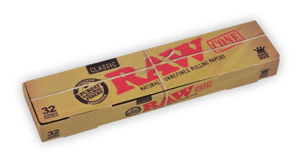 RAW Classic Cones King Size - 32pk