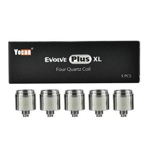Yocan Evolve Plus XL Quad Quartz Coil