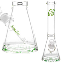 "Green Bear - 14"" 7mm Super Thick Beaker"