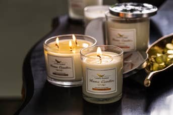 Rama Candles Pumpkin Pie Luxury Soy Candles