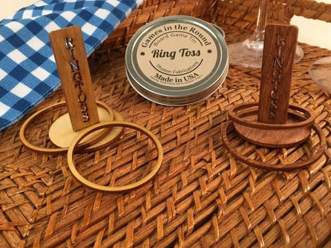 Ring Toss in a Tin Round
