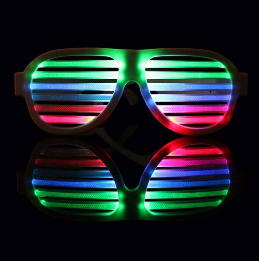 Music&Sound-Activated LED light Party Glasses