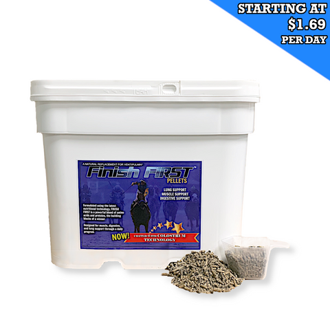 Finish First New & Improved Pellets