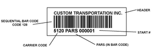 PARS Labels