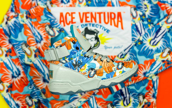 online store b8fb6 68f9b Ewing 33 HI Ace Ventura x Mache  Laces out Dan!
