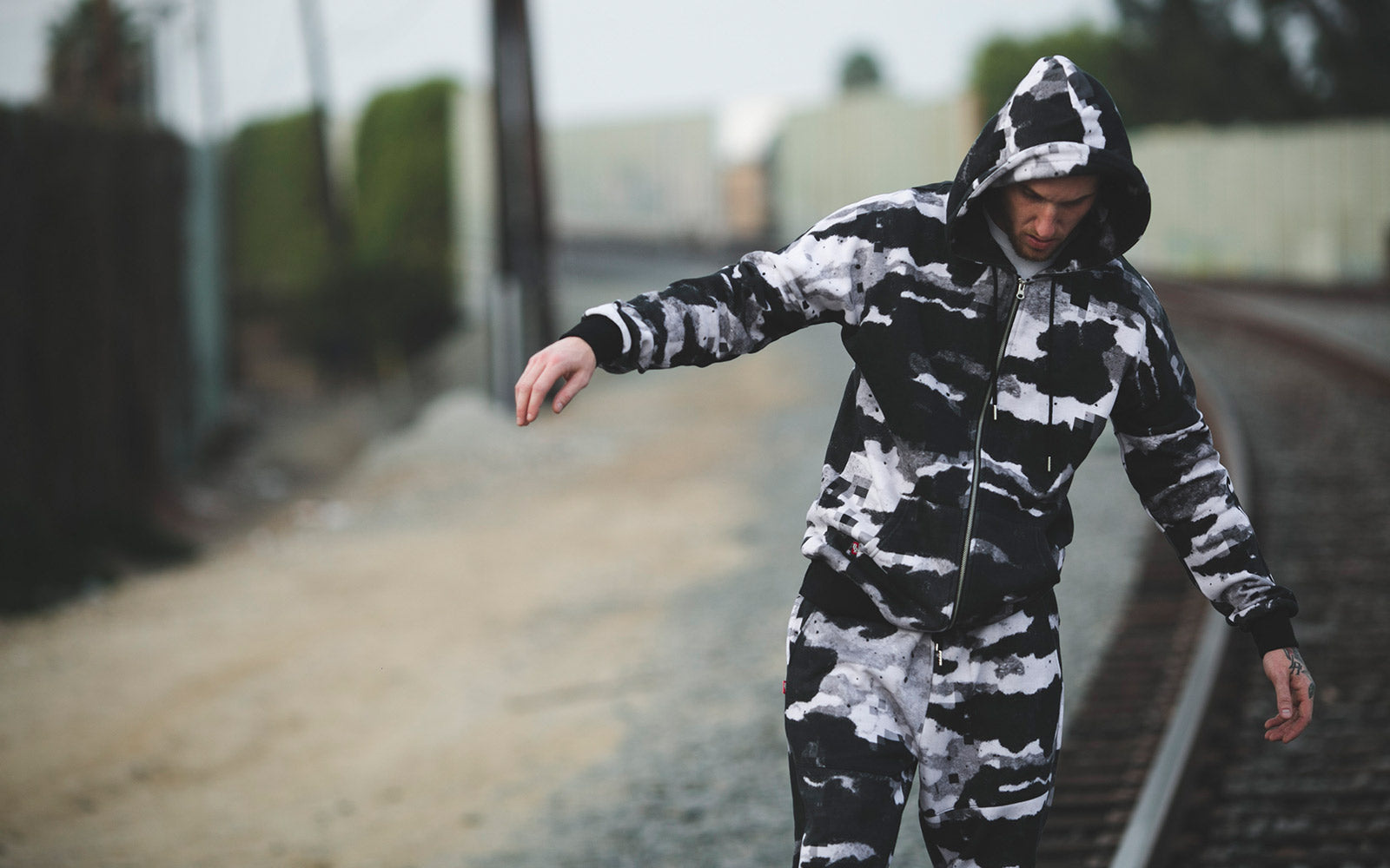 8&9 Mfg Clothing streetwear brand from miami and their hood scouts collection on TheDrop
