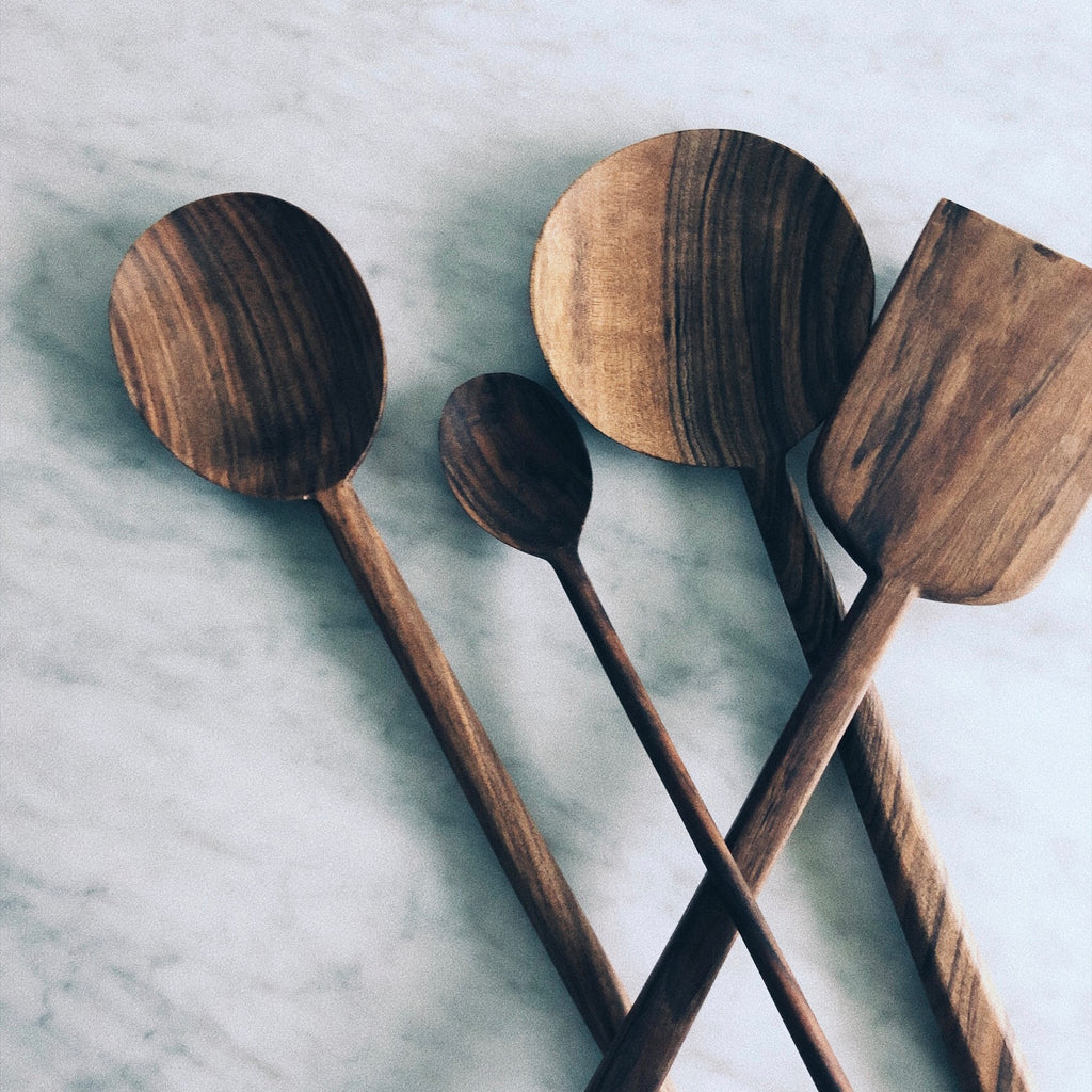 Walnut Spoon - Round