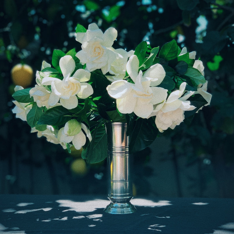 Match Pewter | Footed Cylinder Vase