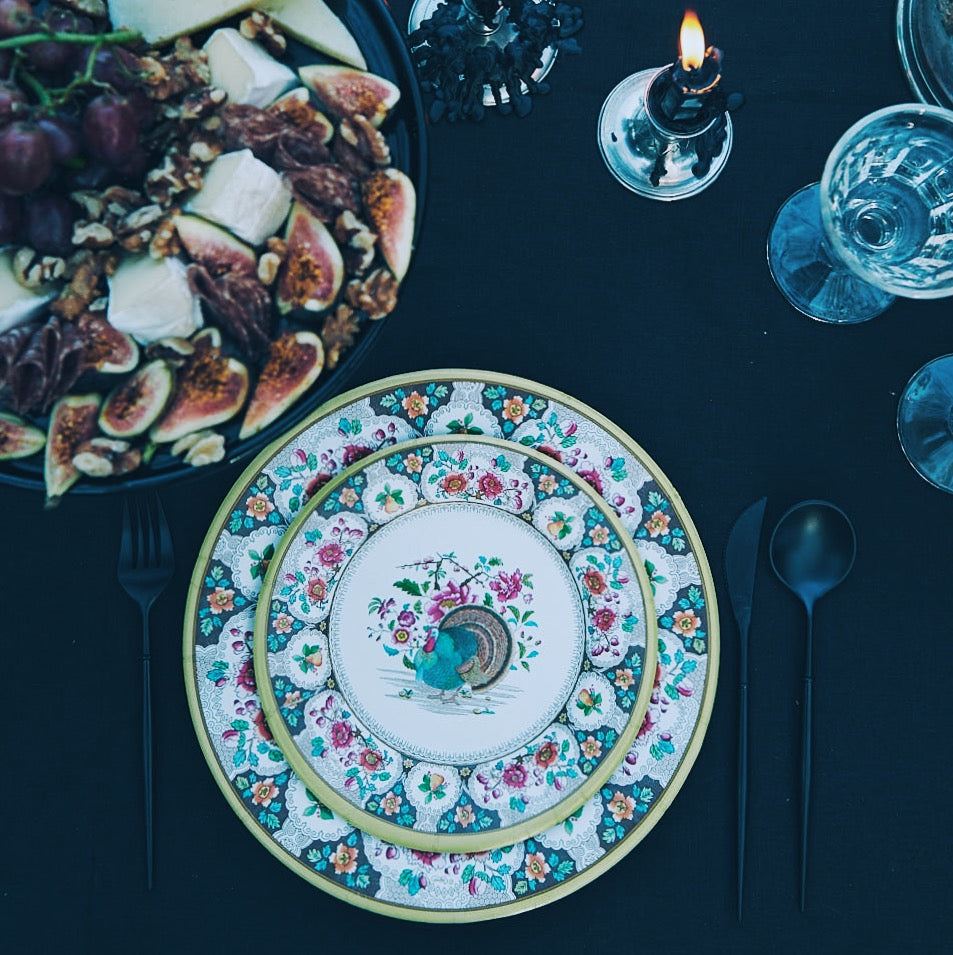 Thanksgiving Paper Dinner Plates