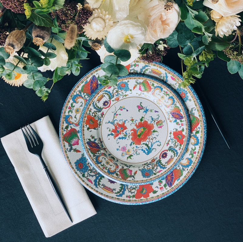 Chinese Ceramic Paper Dinner Plates