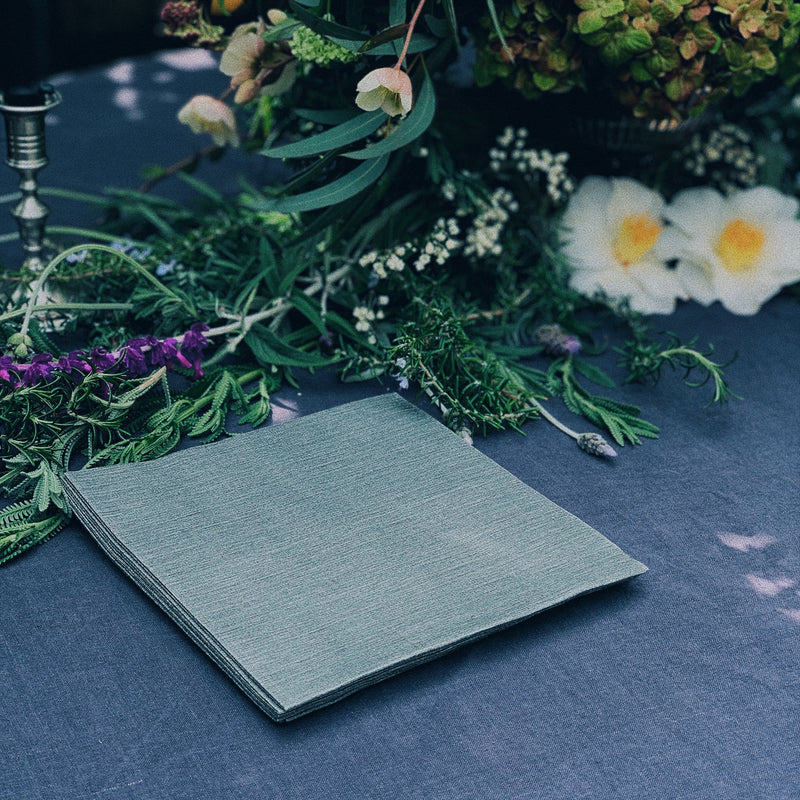 Dark Grey Napkin
