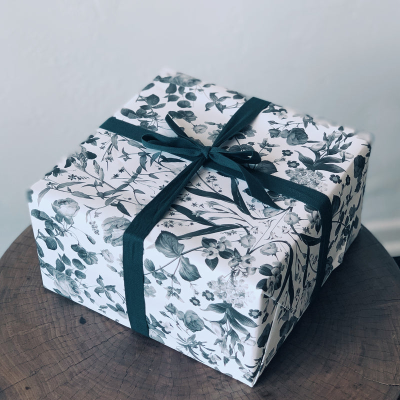 Open Sea Floral Wrapping Paper