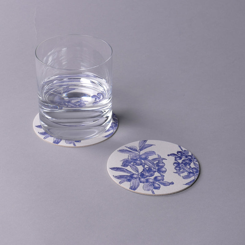 Blueberry Coasters
