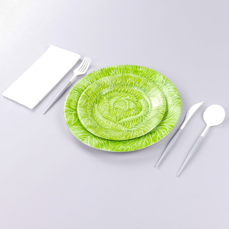 Cabbageware Paper Dinner Plates