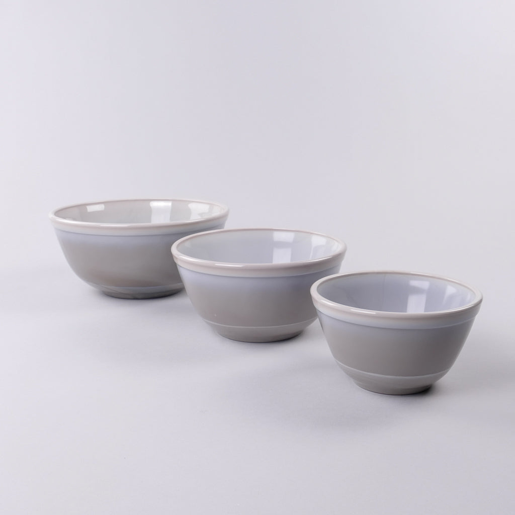Mixing Bowl Set - Grey Marble