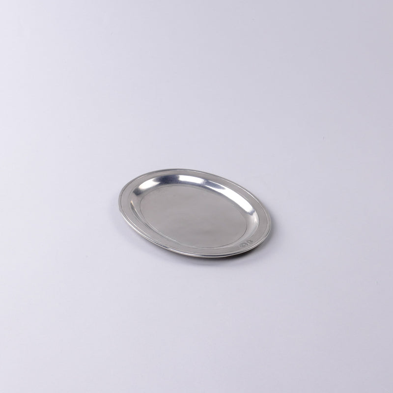 Match Pewter | Oval Incised Tray - Small