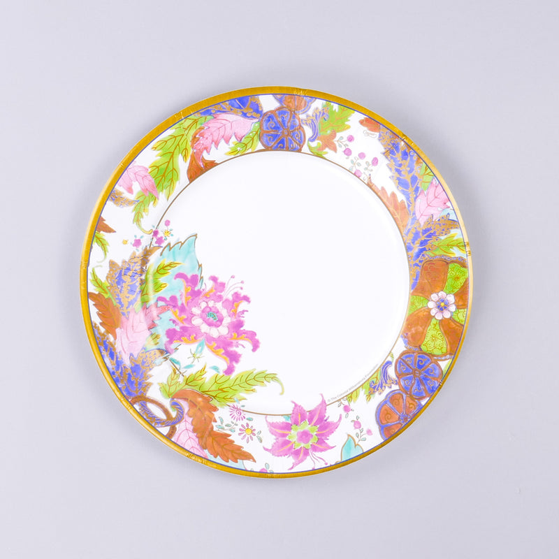 Tobacco Leaf Paper Dinner Plates
