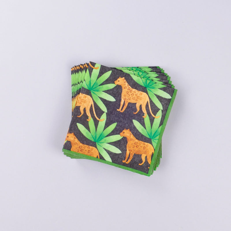 Panthera Cocktail Napkin