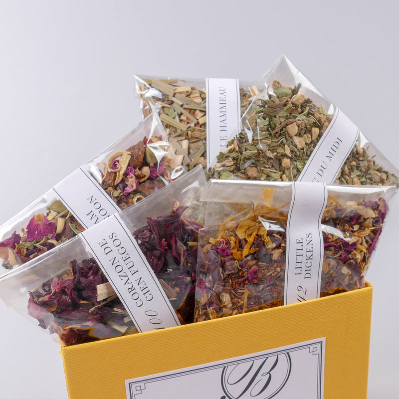 BELLOCQ Tea Atelier | Herbal Blends Sample Box