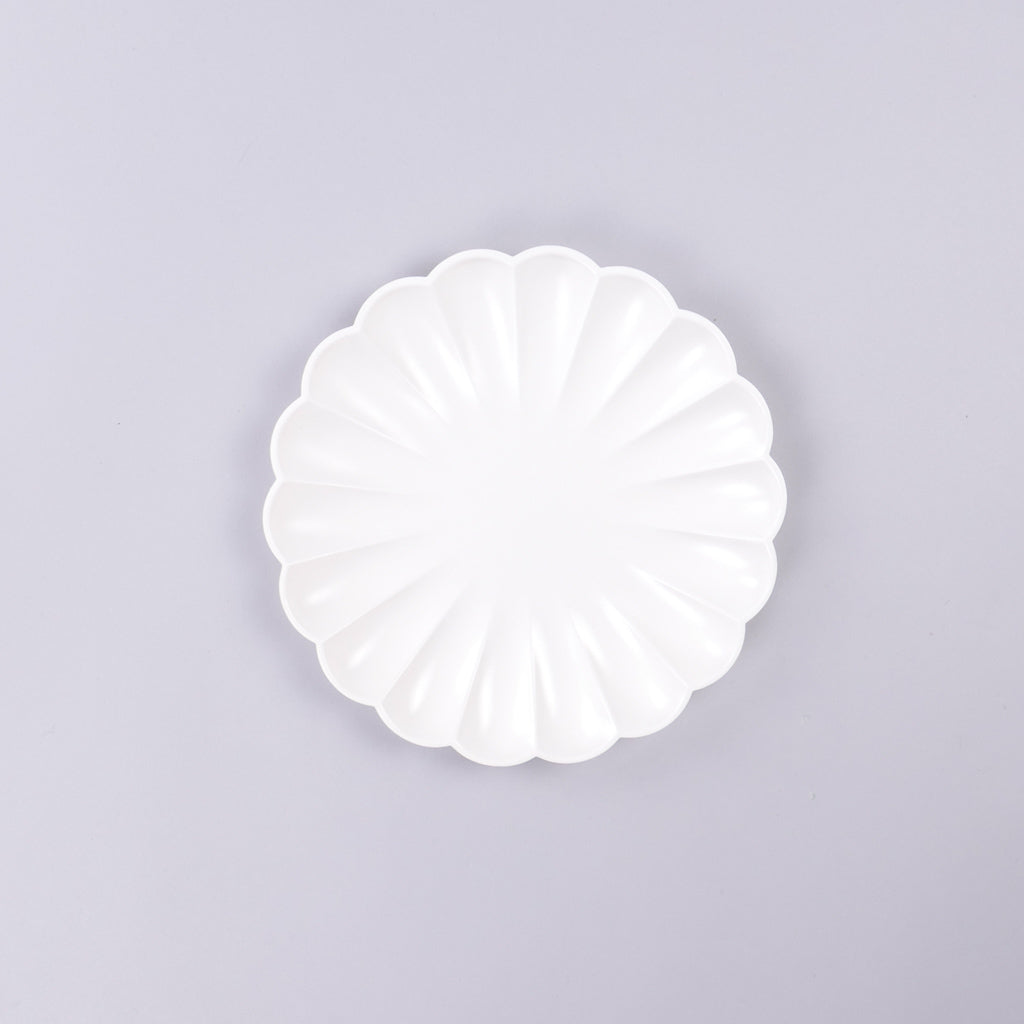 Eco Salad Plates - Cream