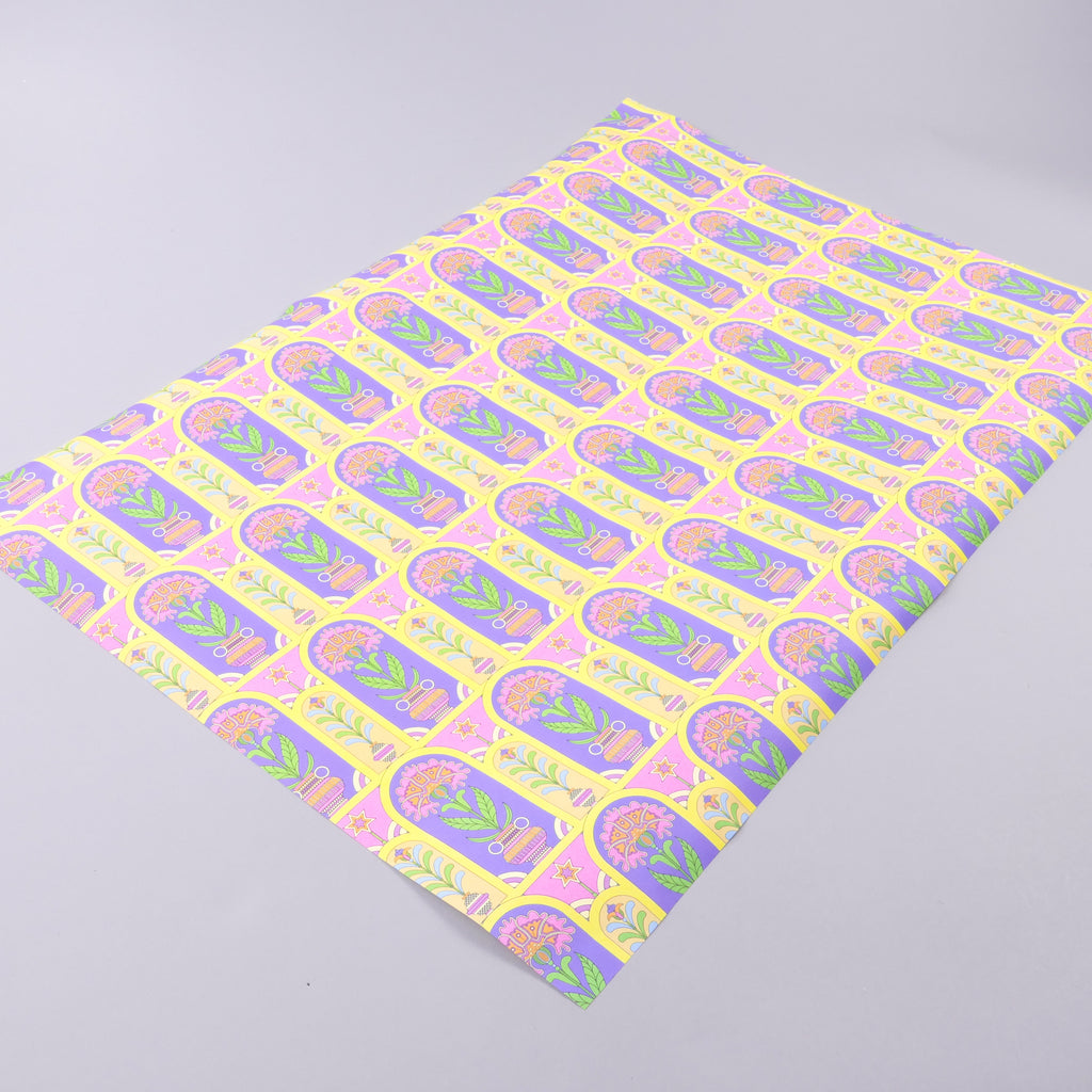 Happy Colors Wrapping Paper