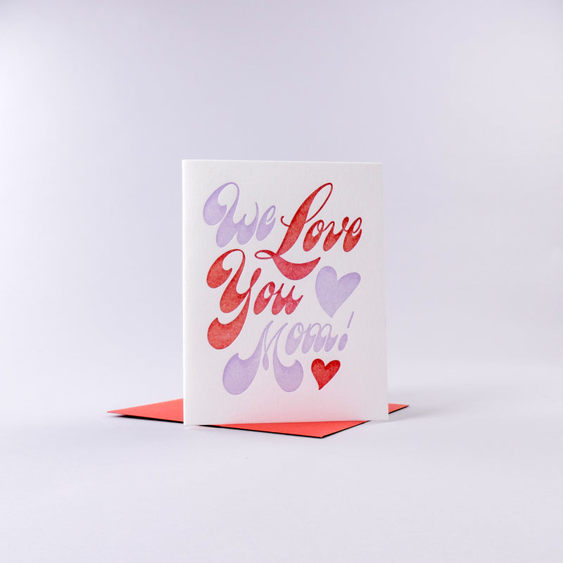 Love Mom Card