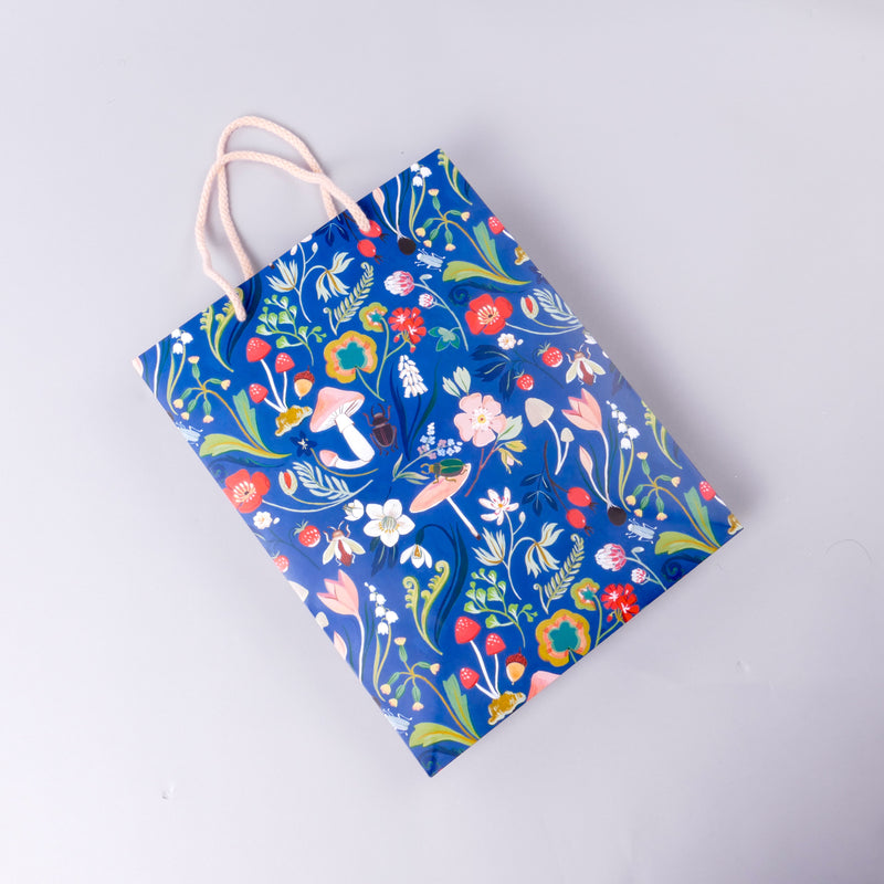 Forest Blue Bag
