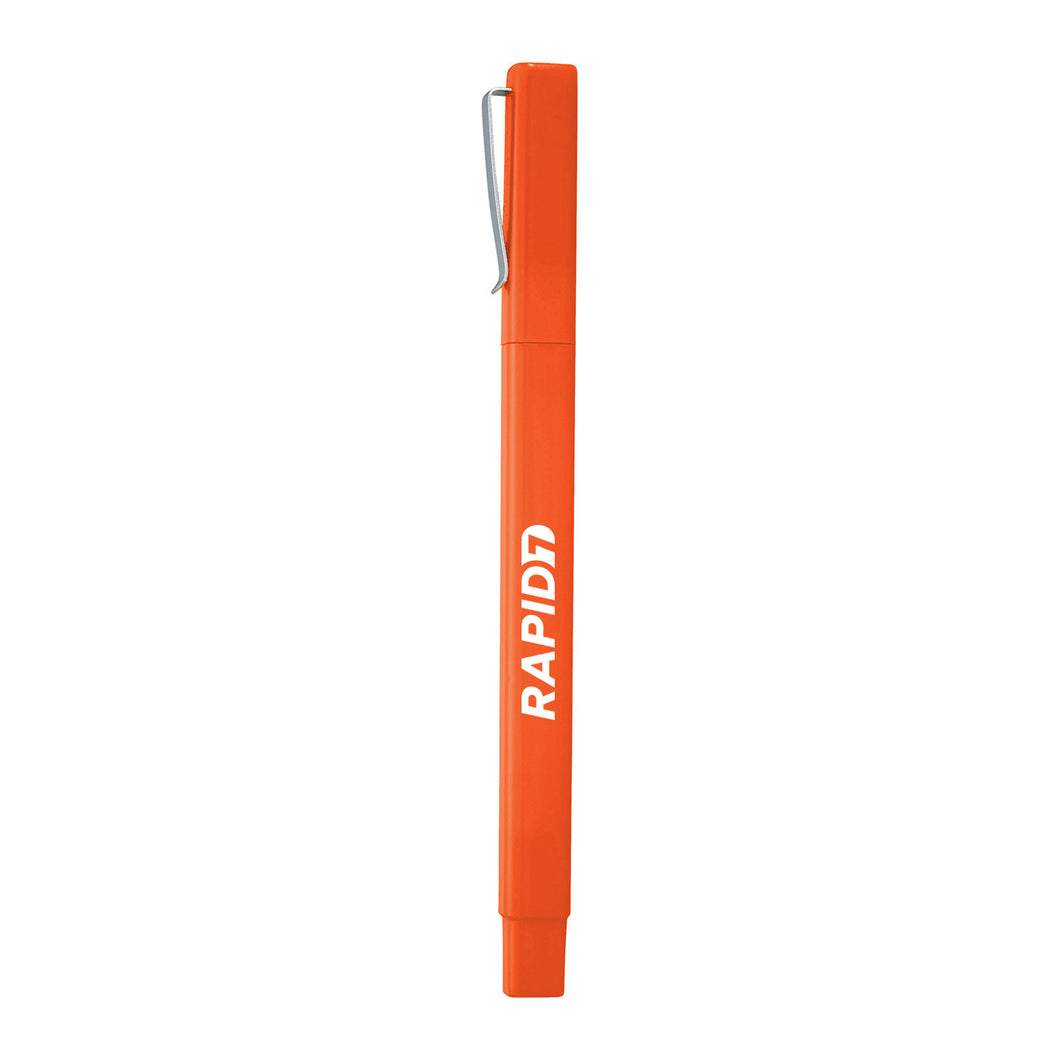 Orange Ambassador Square Ballpoint Pen