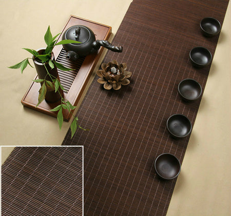 Vintage Bamboo Table Mats, Table Runners In 5 Lengths!