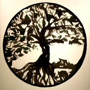 Tree of Life Fine Art Print 8x8